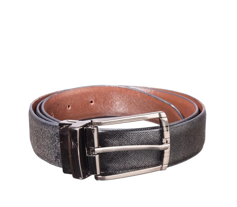 Khadim's Multicolour Office Leather Belt