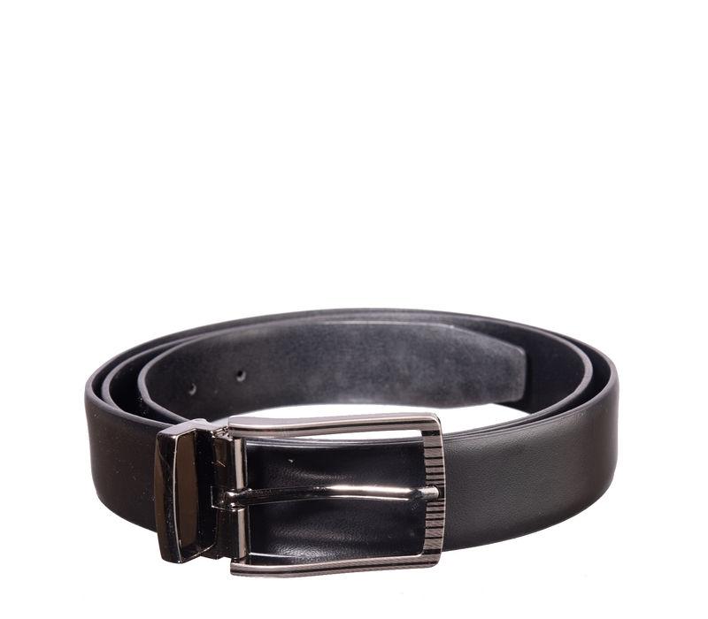 Khadim's Black Formal Leather Belt