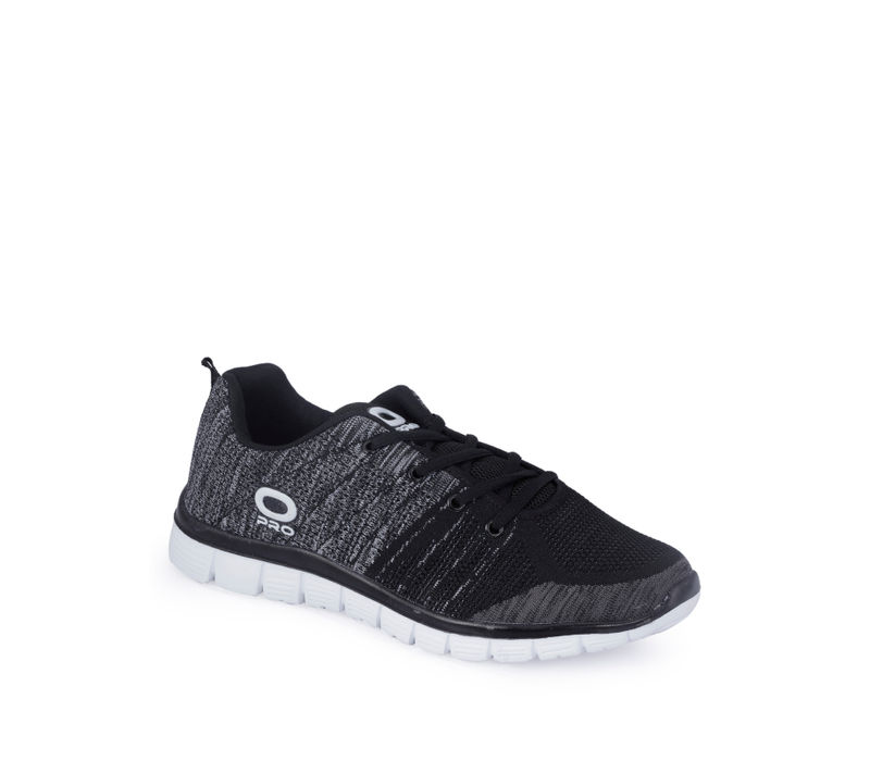 Pro Men Black Casual Dress Sneakers