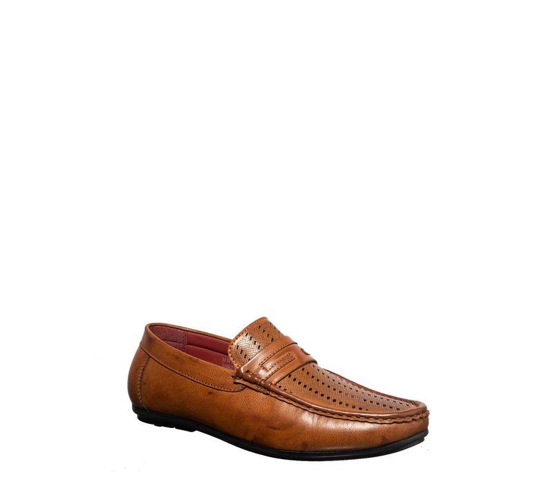Lazard Men Tan Casual Loafer Shoe