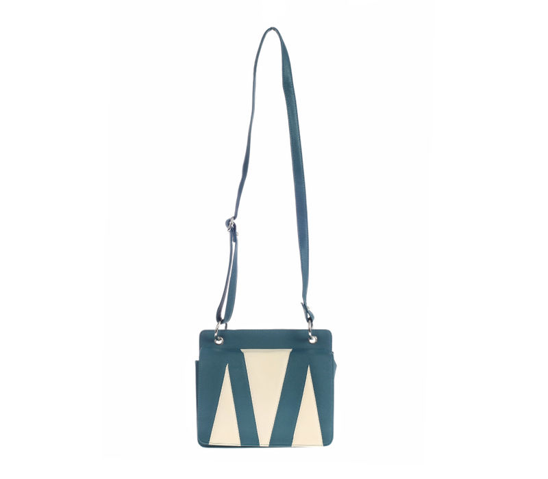 Khadim's Green Satchel Sling Bag