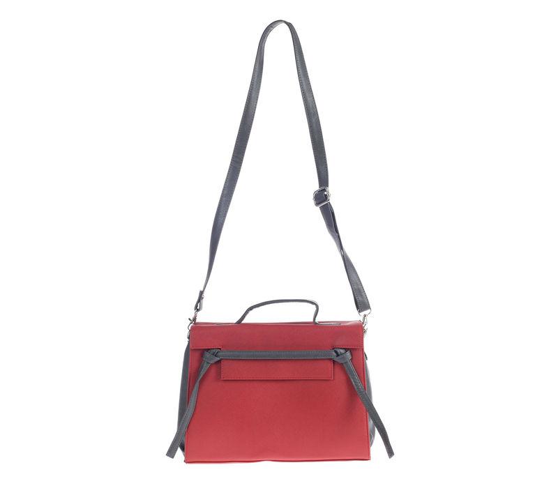 Khadim's Cherry Satchel Sling Bag