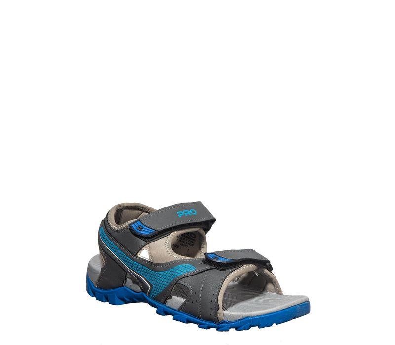 Pro Men Grey Casual Floater Sandal