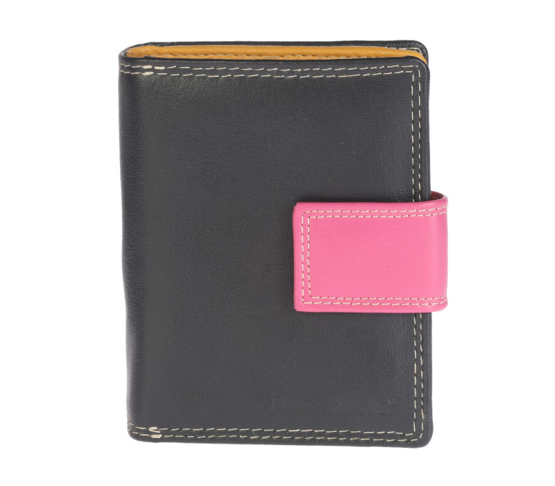 Khadim's Black Notecase Wallet