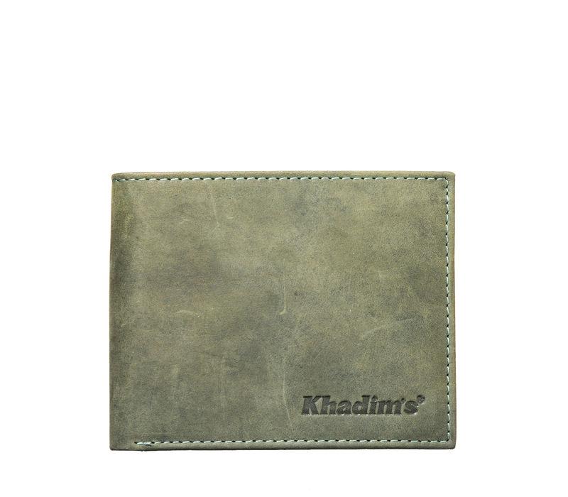 Khadim's Men Olive Single-fold Wallet