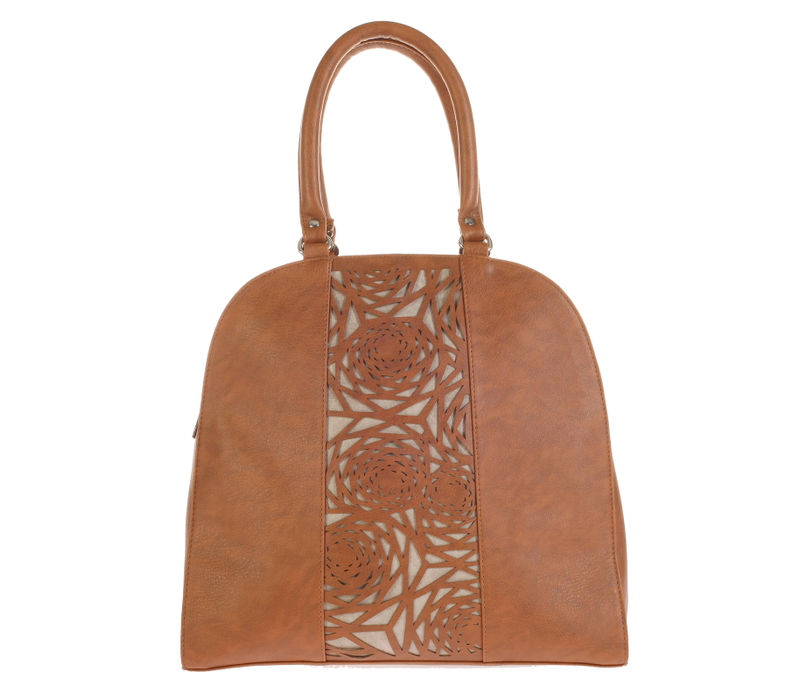 Khadim's Brown Tote Handbag