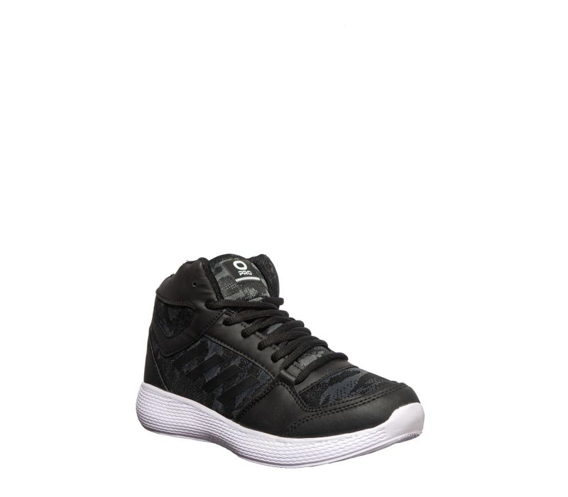 Pro Men Black Sports Activity Sneakers