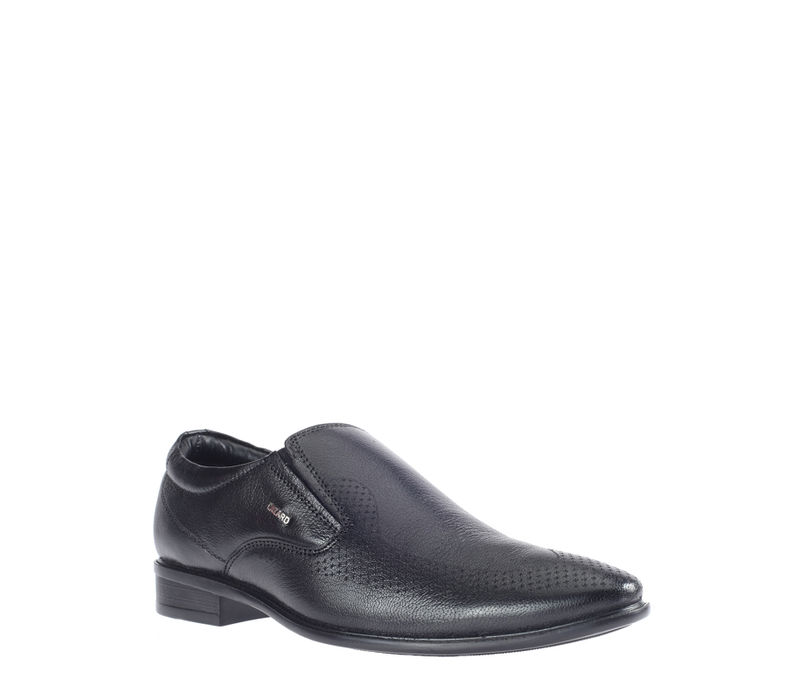 Lazard Black Formal Slip-On Shoe