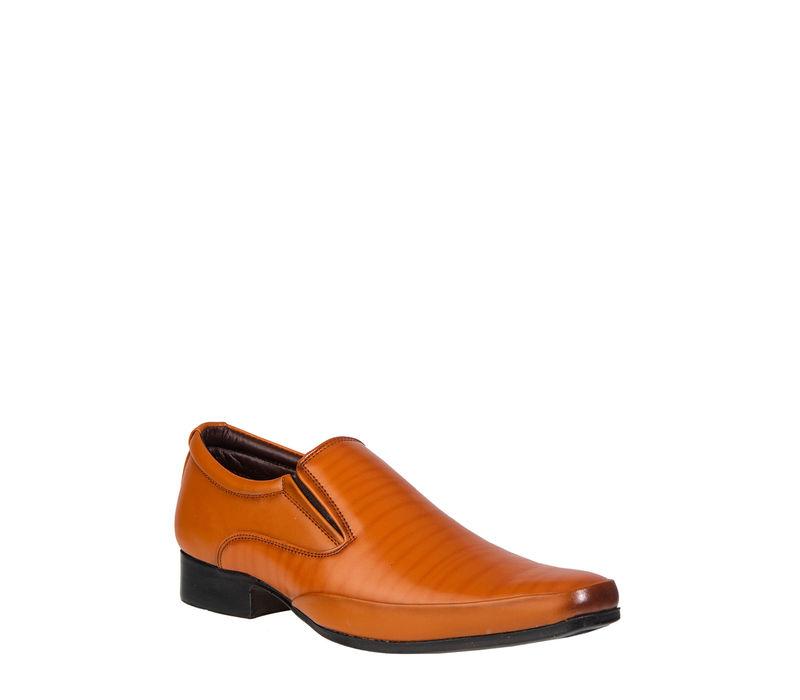 Lazard Men Tan Lifestyle Slip-On Shoe