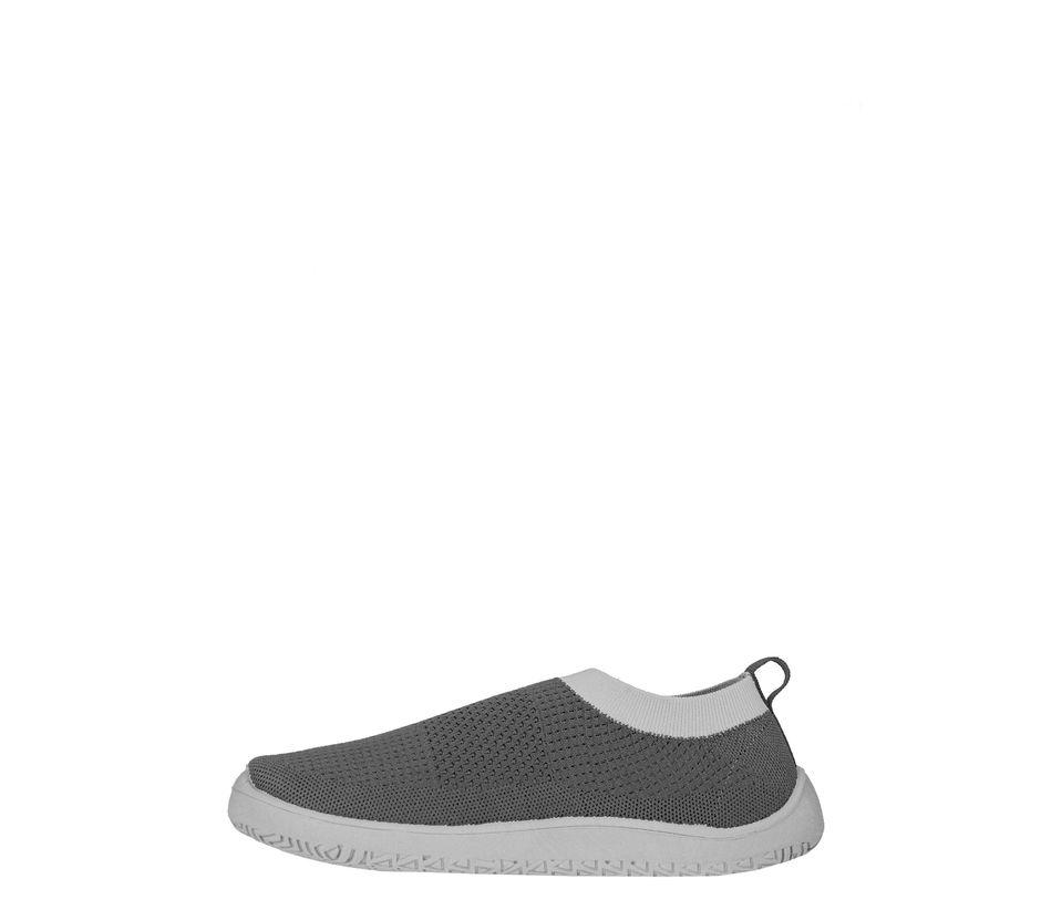 Pro Men Grey Casual Slip-On Sneakers