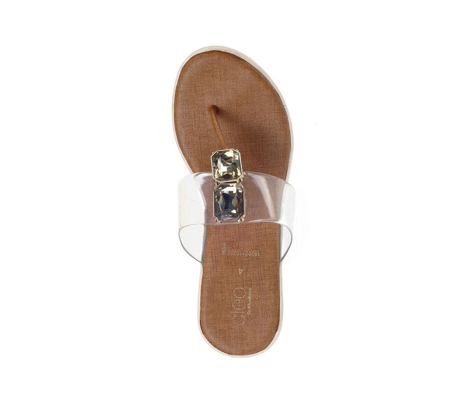 Cleo Women Beige Lifestyle Heel Sandal
