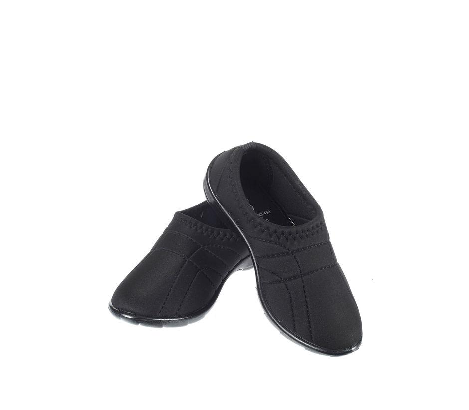 Khadim's Women Black Casual Slip-On Sneakers