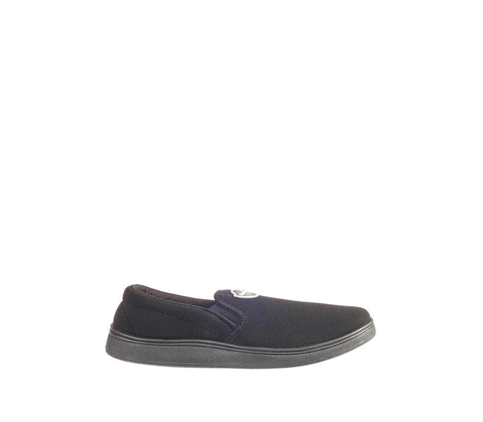 Khadim's Men Black Casual Slip-On Sneakers