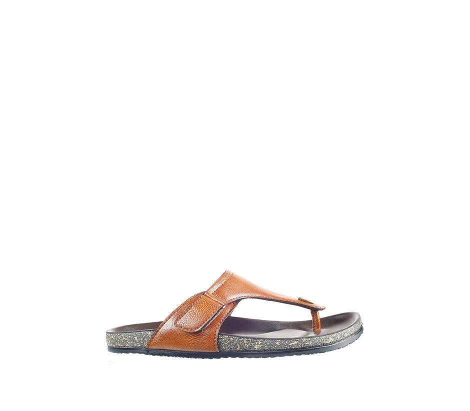 Lazard Men Tan Casual Slip-On Sandal