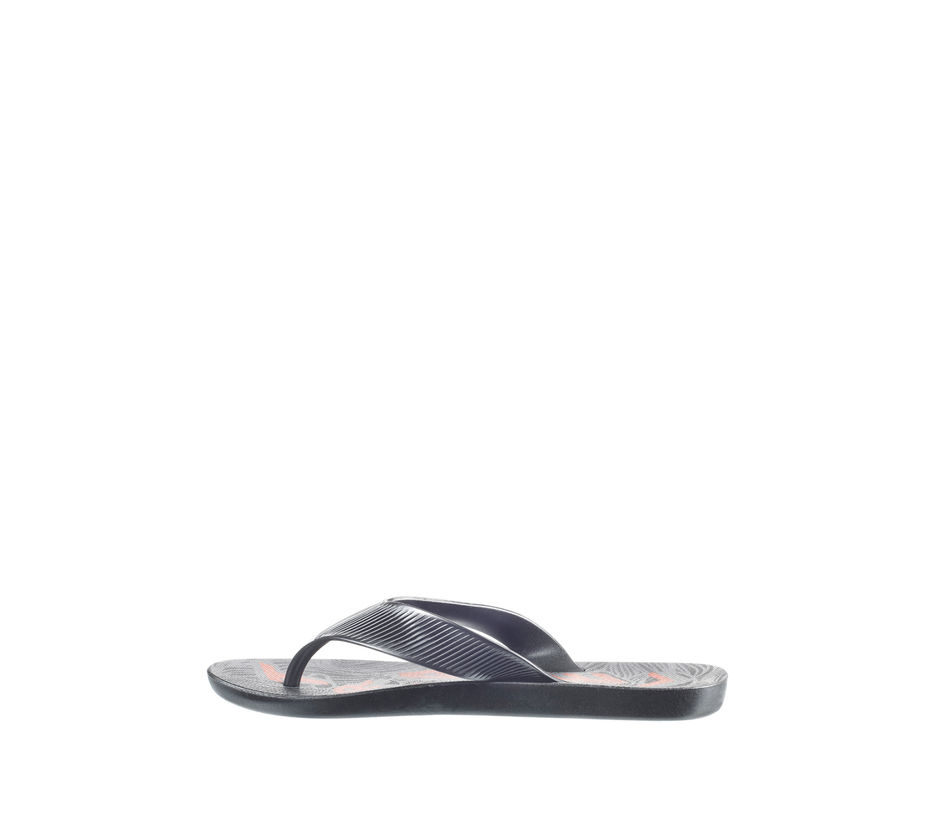Pro Men Black Casual Outdoor Flip-Flop