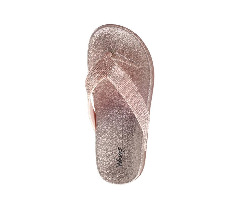 Waves Women Pink Casual Flat Slipper
