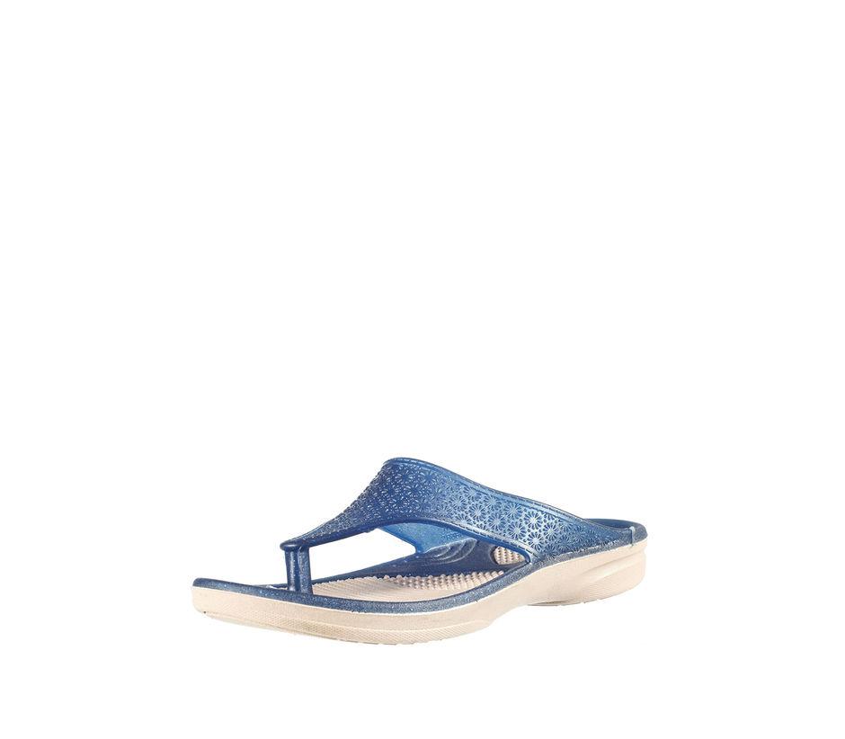 Khadim's Women Blue Casual Outdoor Slipper