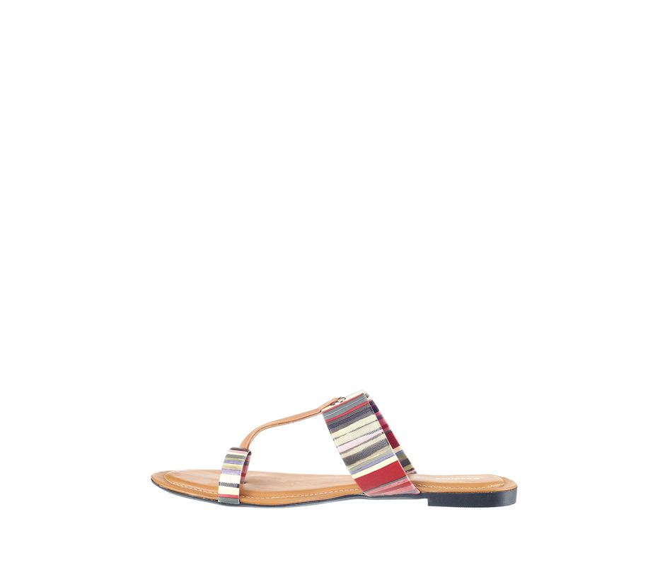 Khadim's Women Multicolour Casual Flat Slipper