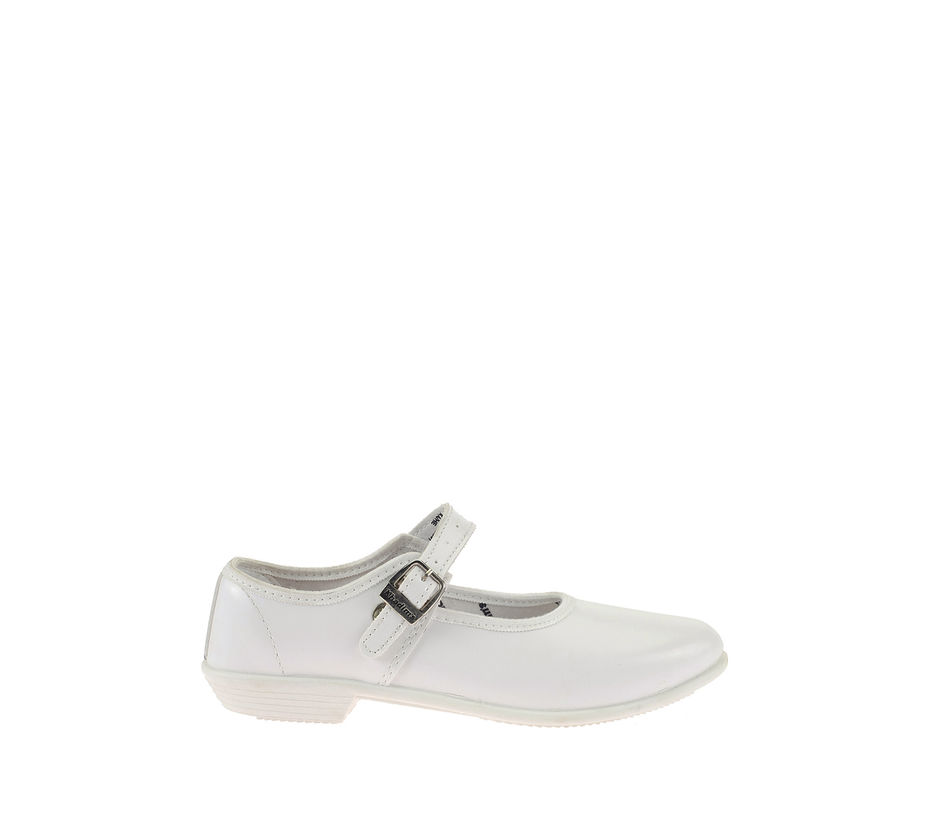 Schooldays Girl White Formal Mary Jane Shoe