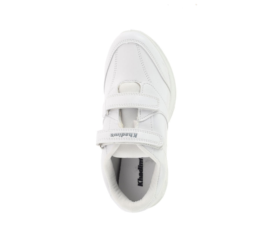 Khadim's Boy White Sports Activity Sneakers