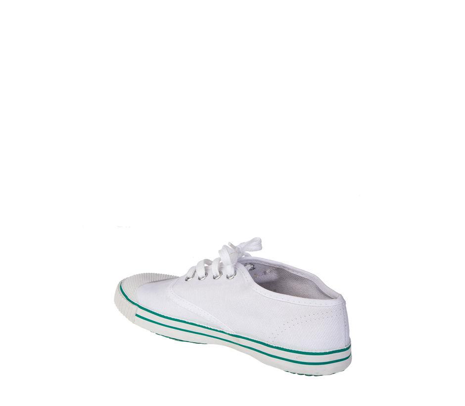 Khadim's Kids White Sports Activity Sneakers
