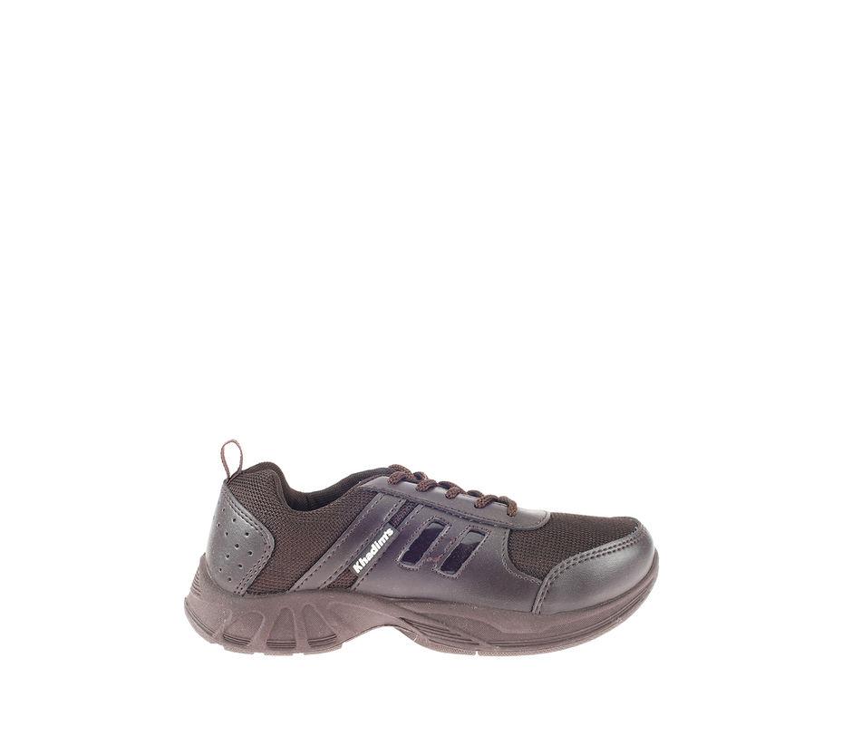 Khadim's Boy Brown Sports Activity Sneakers