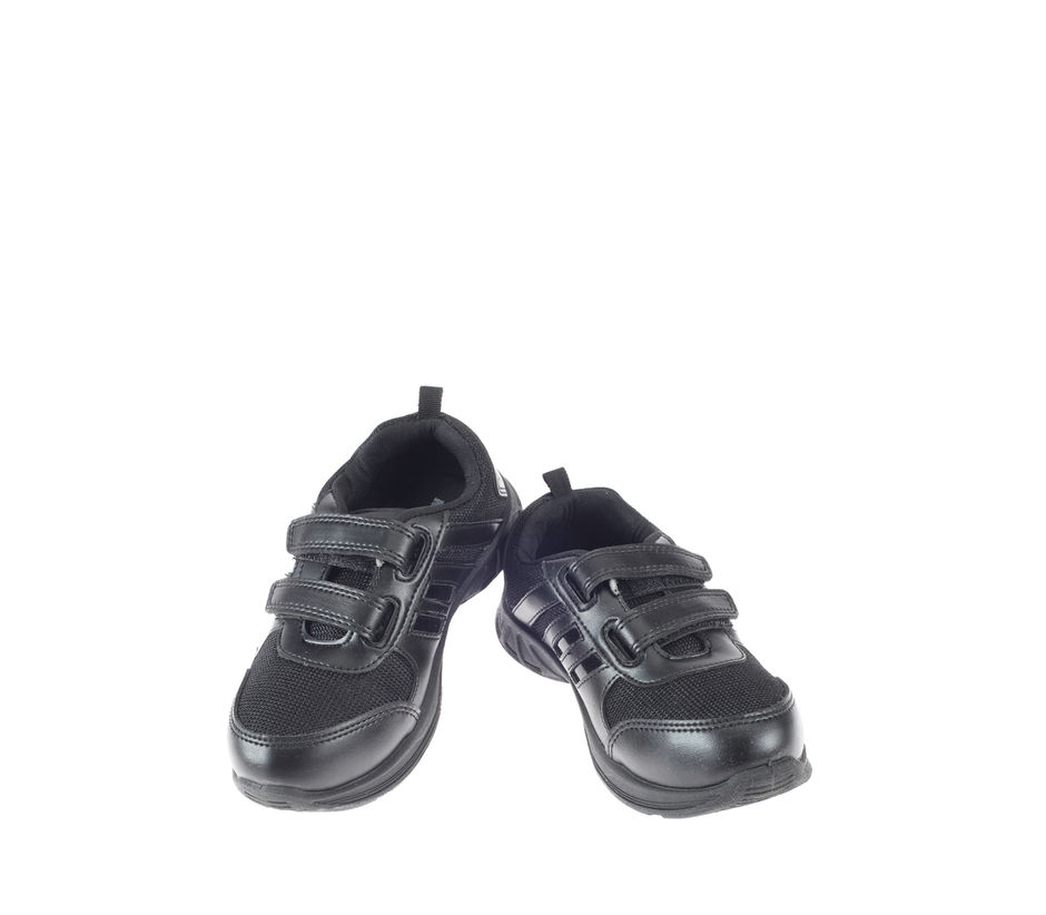Khadim's Boy Black Sports Activity Sneakers