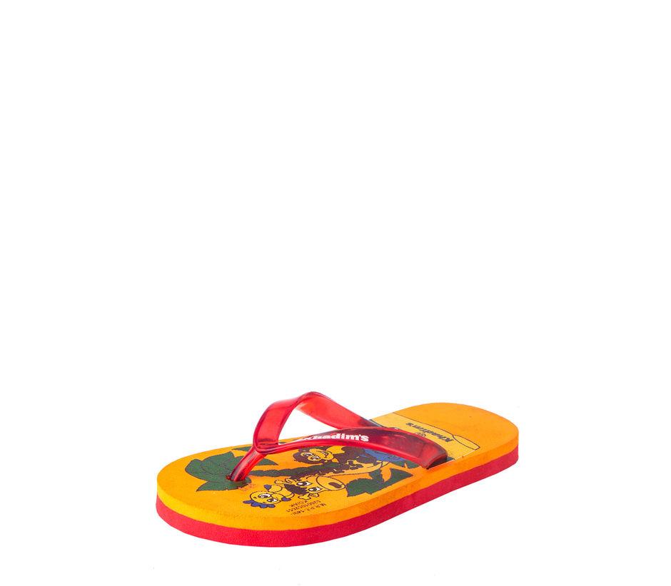 Khadim's Kids Yellow Casual Indoor Flip-Flop