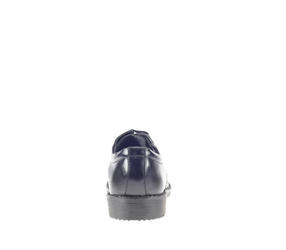 Khadim's Boy Black Formal Derby Shoe