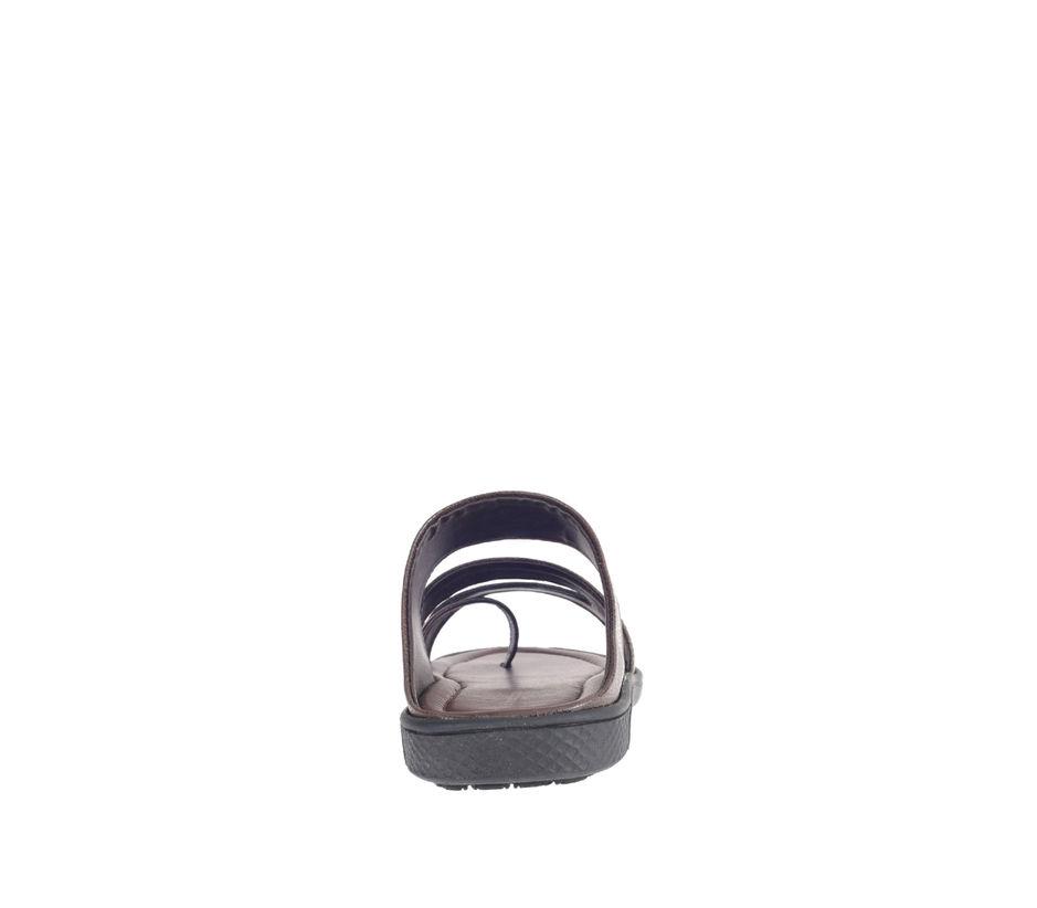 Khadim's Brown Casual Mule Sandal