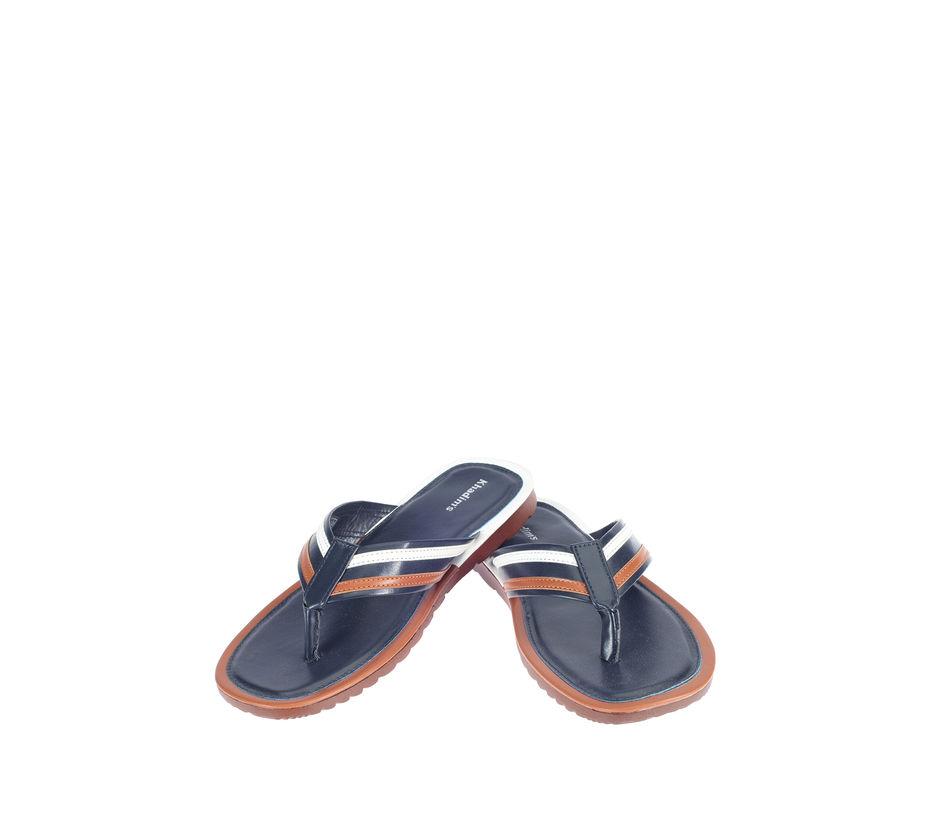 Khadim's Blue Lifestyle Outdoor Slipper