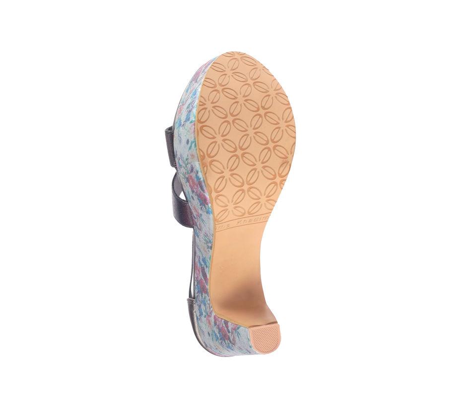Cleo Gold Lifestyle Heel Sandal