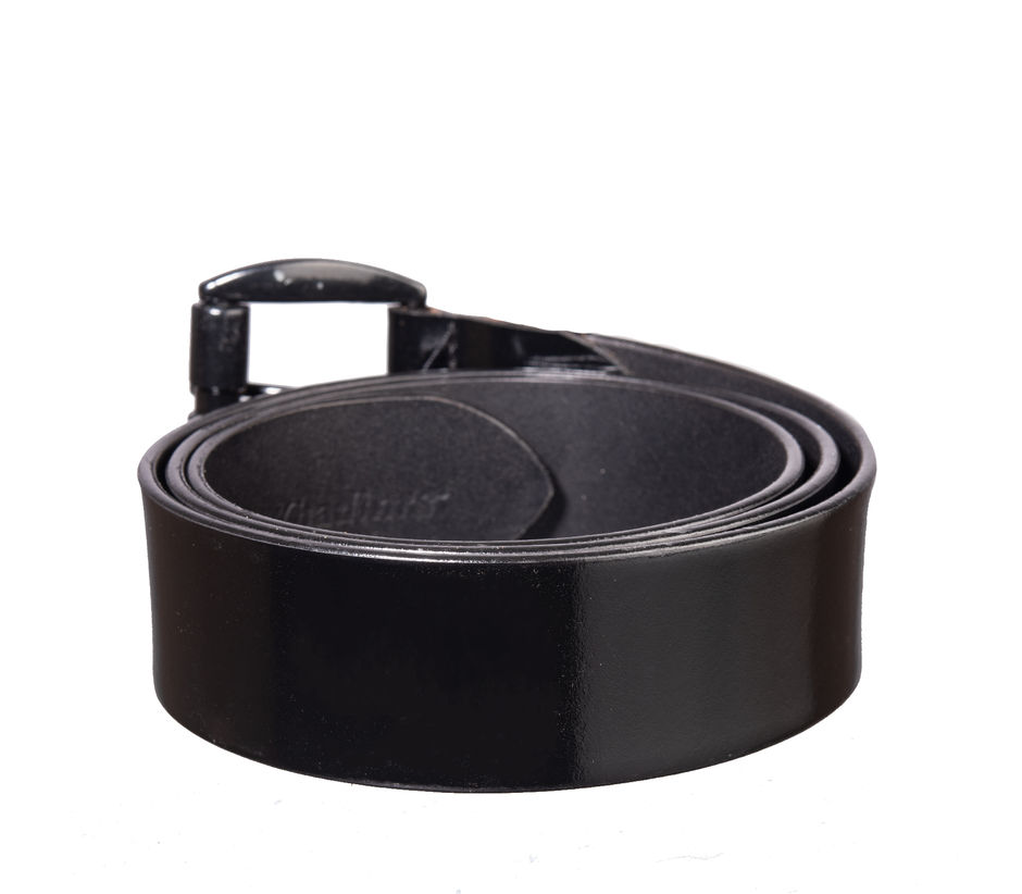 Khadim's Men Black Leather Belt