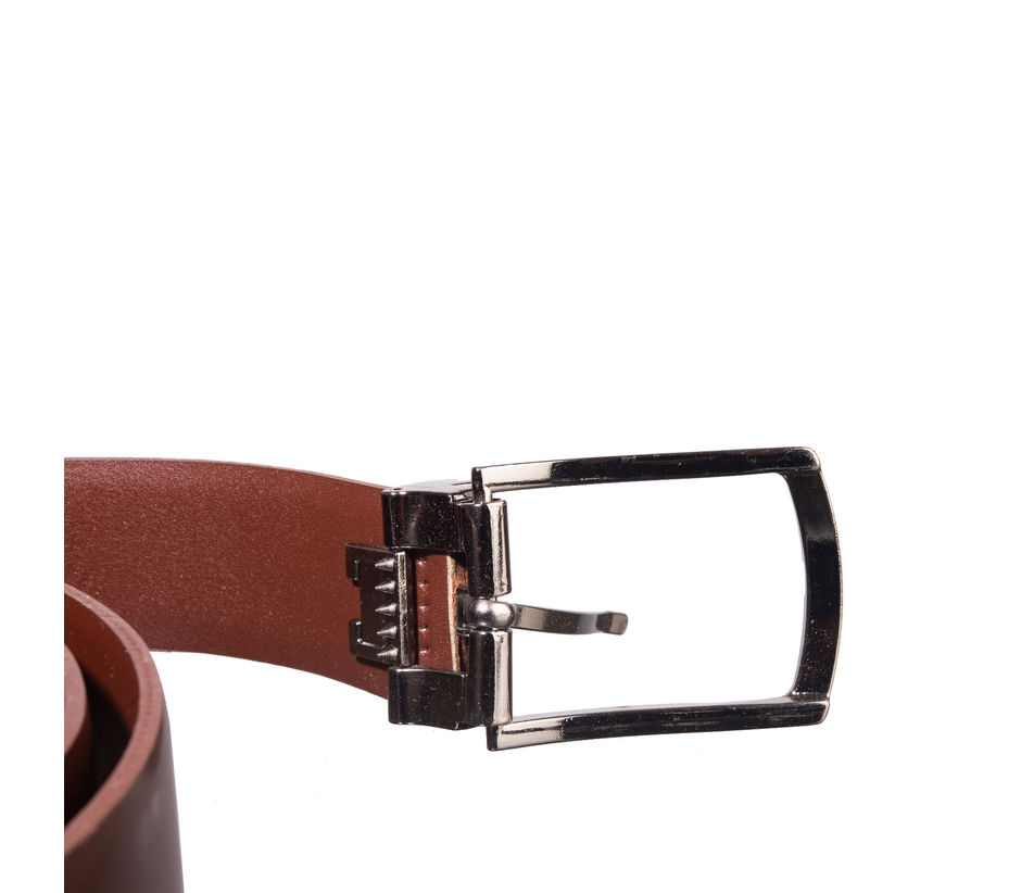 Khadim's Brown Office Leather Belt