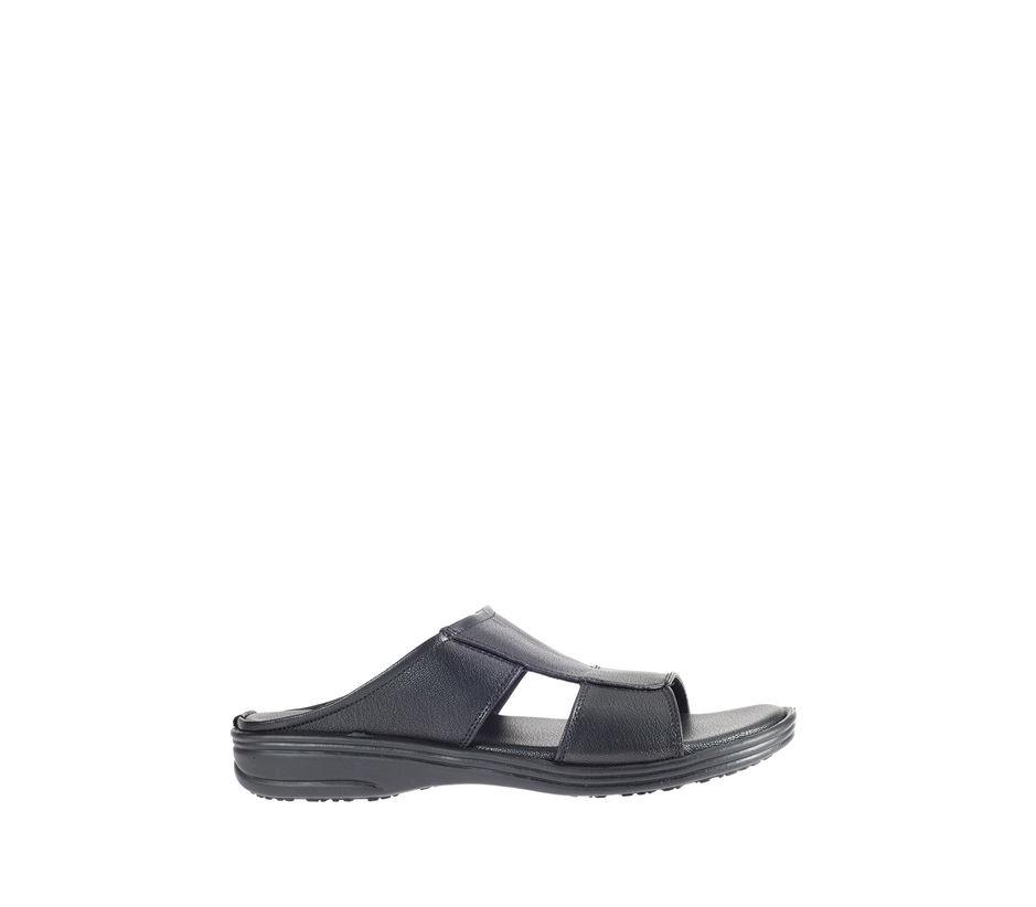 Khadim's Black Casual Mule Sandal
