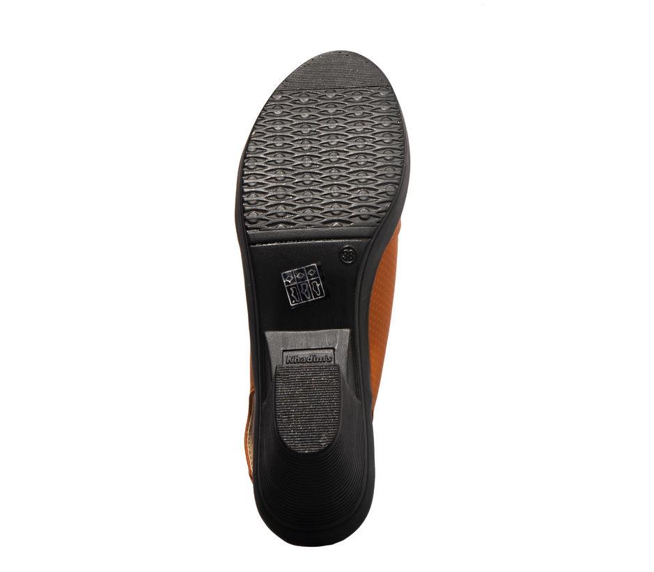Khadim's Tan Lifestyle Mule Sandal