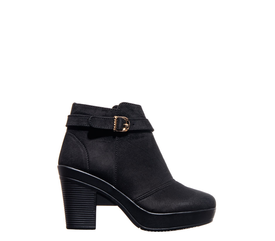 Cleo Black Lifestyle Dress Boots