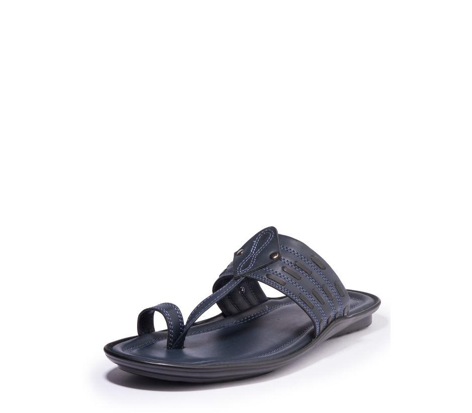 Khadim's Lazard Men Navy Ethnic Dress Sandal