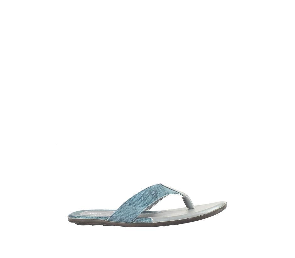 Khadim's Grey Casual Outdoor Slipper