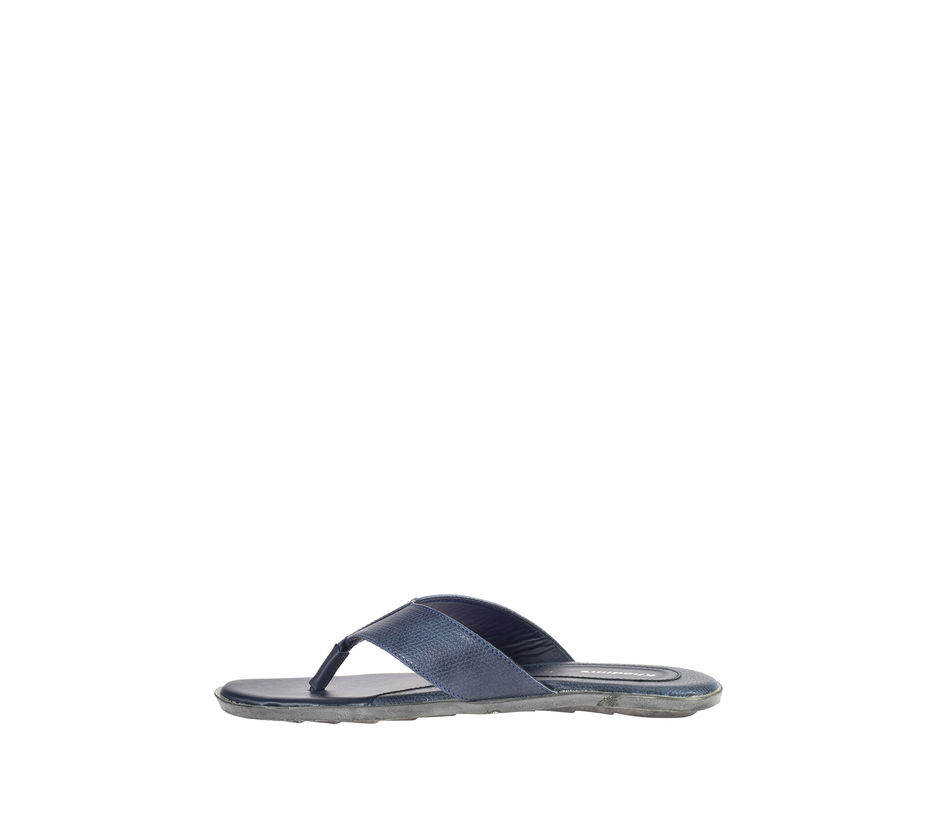 Khadim's Navy Casual Outdoor Slipper