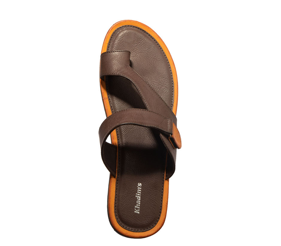 Khadim's Brown Casual Dress Slipper