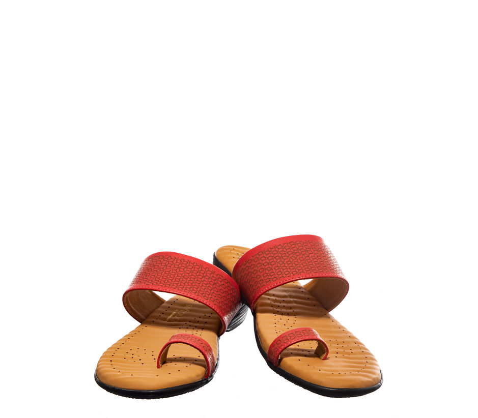 Softouch Pink Casual Flat Sandal