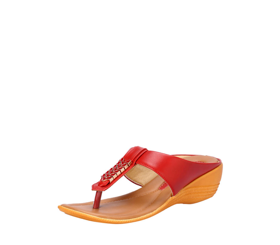 Khadim's Cherry Casual Slip-On Sandal