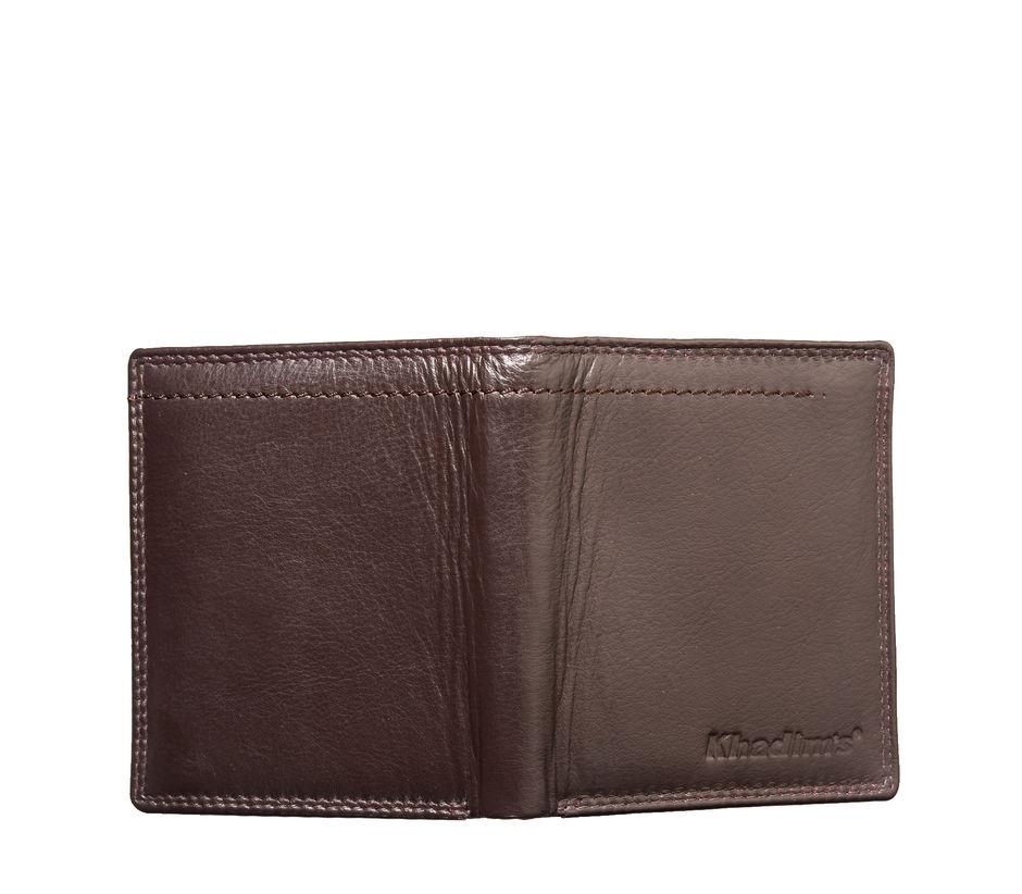 Khadim's Men Brown Notecase Wallet