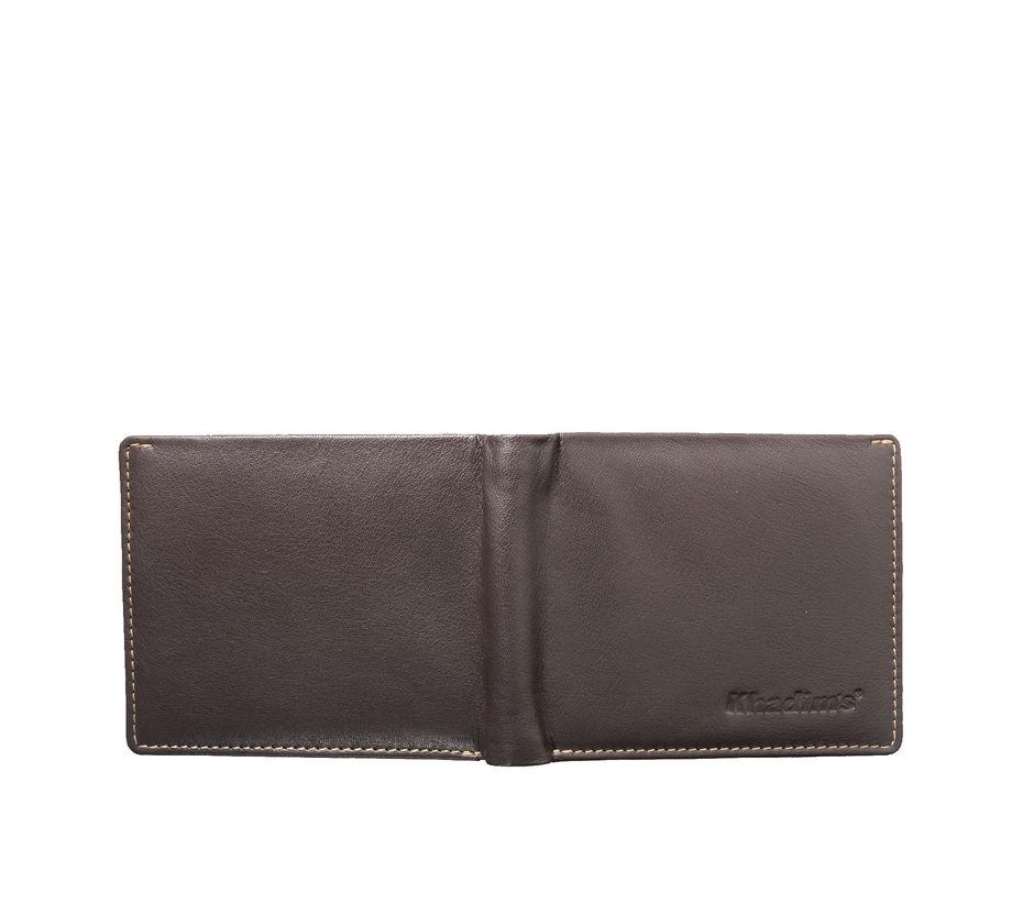 Khadim's Unisex Brown Single-fold Wallet