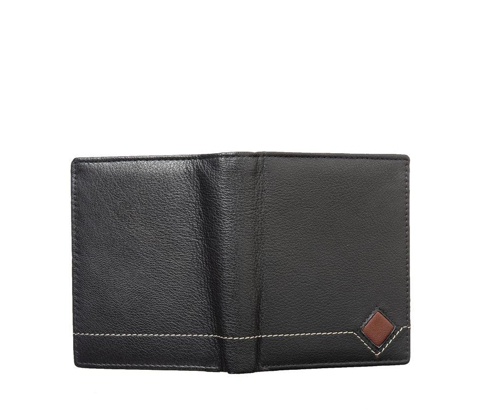 Khadim's Men Black Notecase Wallet