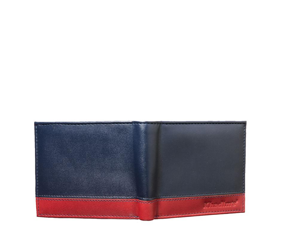 Khadim's Men Navy Single-fold Wallet