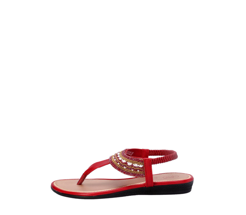 Cleo Cherry Lifestyle Strap-On Sandal