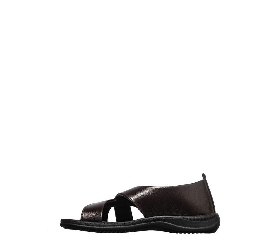 Khadim's Brown Casual Slip-On Sandal
