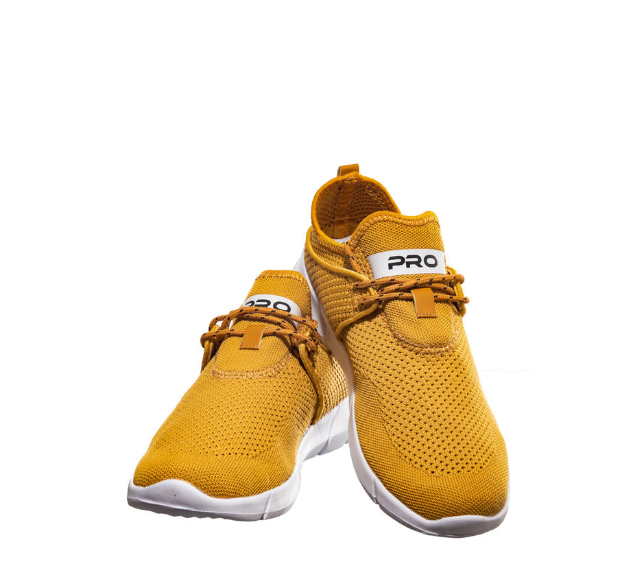 Pro Yellow Lifestyle Dress Sneakers